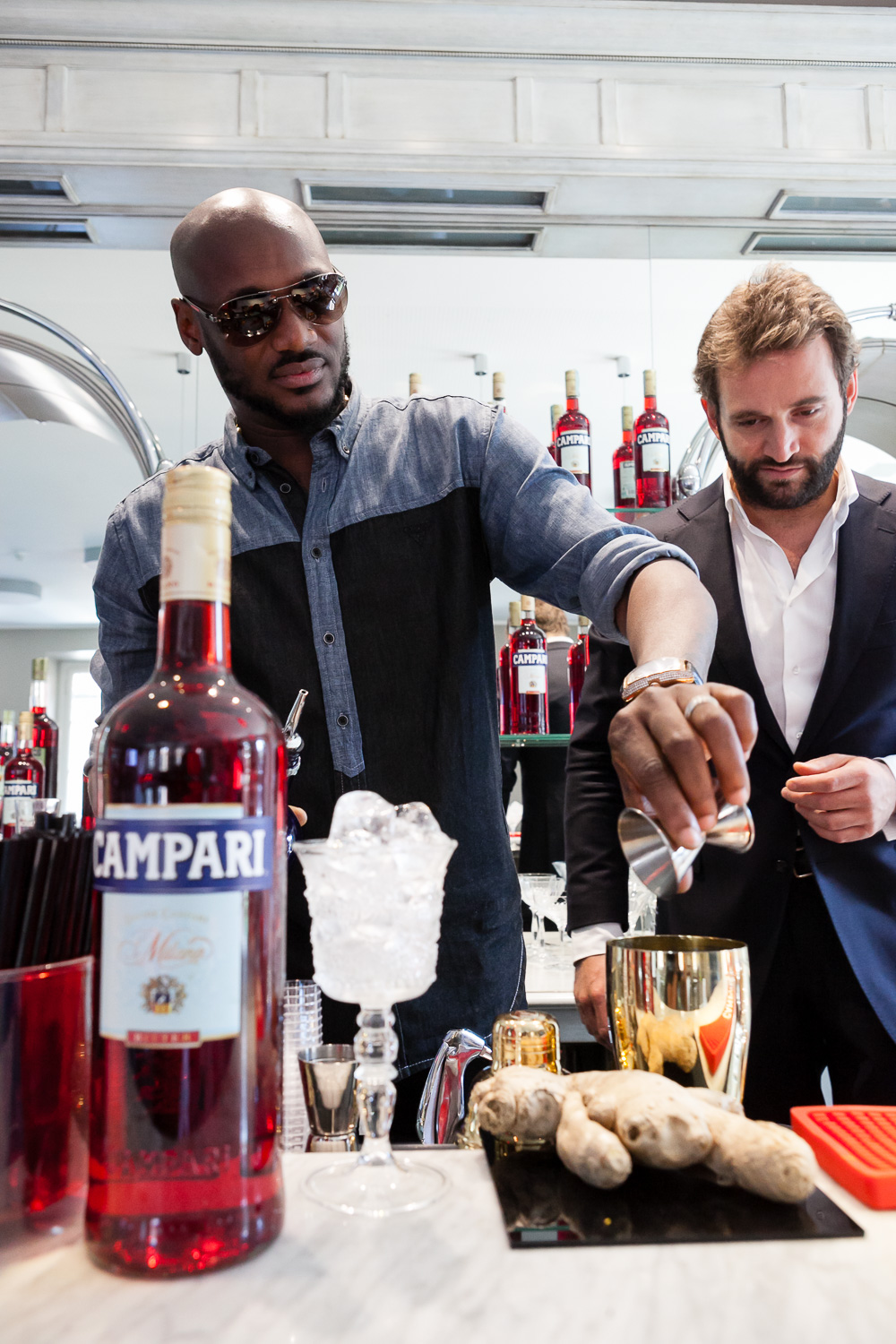 2Baba at Home of Campari 13