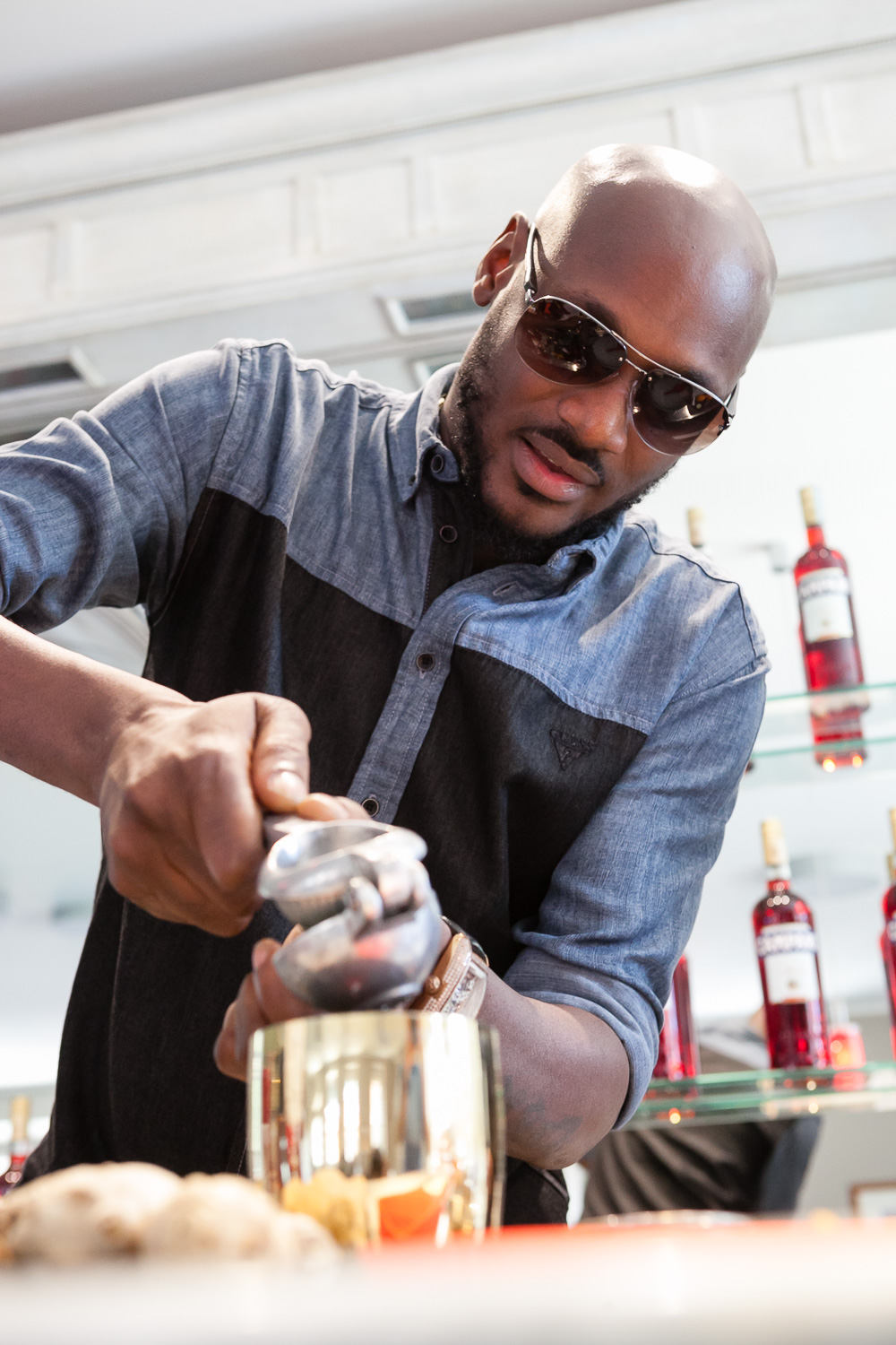 2Baba at Home of Campari 15