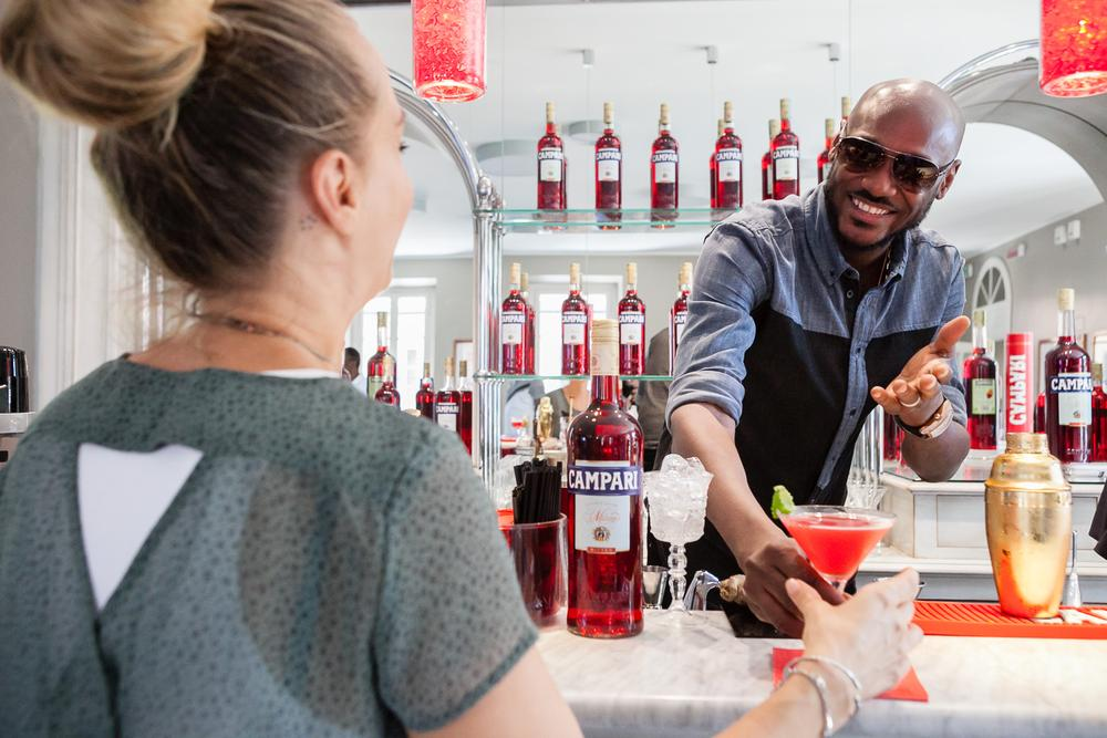 2Baba at Home of Campari 16
