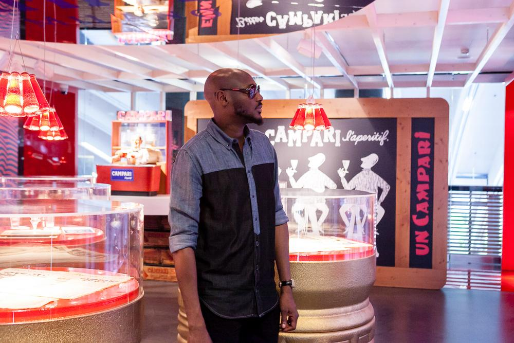 2Baba at Home of Campari 25