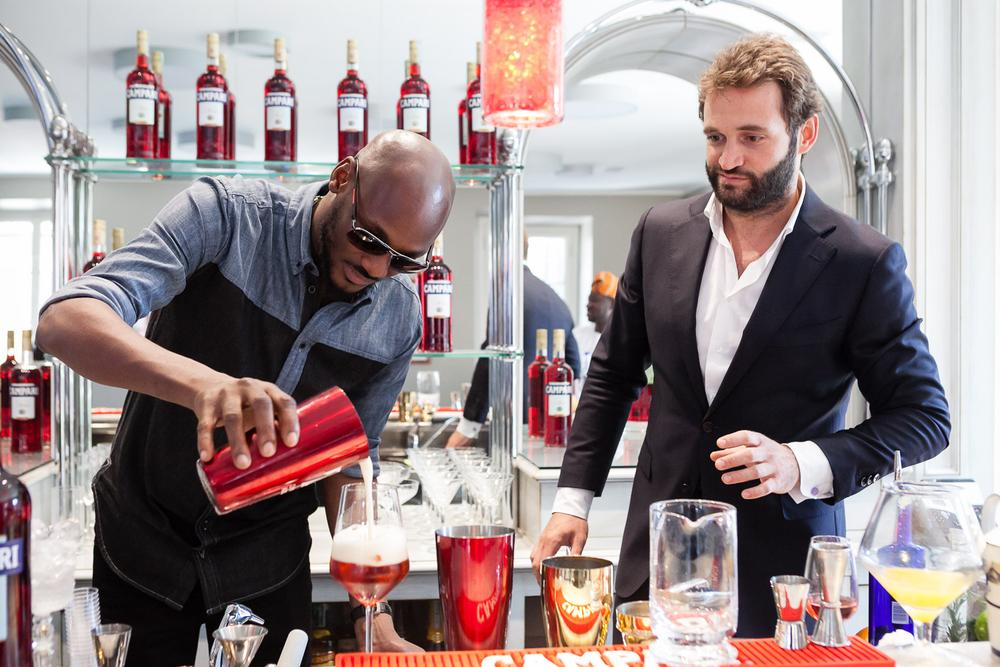 2Baba at Home of Campari 5