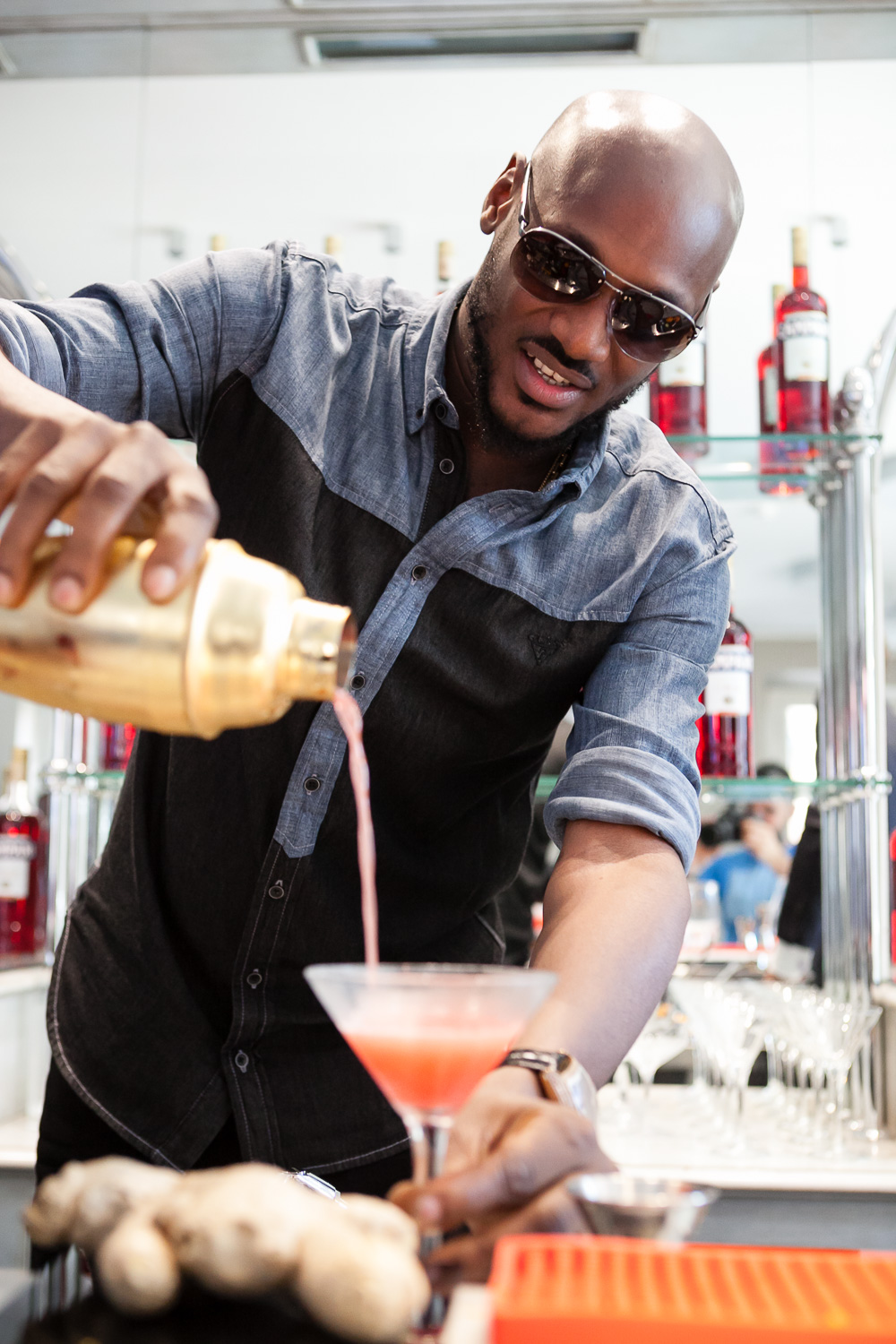 2Baba at Home of Campari 8