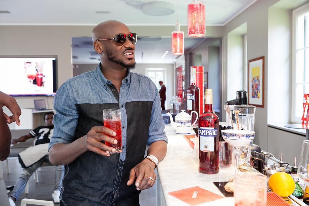2Baba at Home of Campari 9