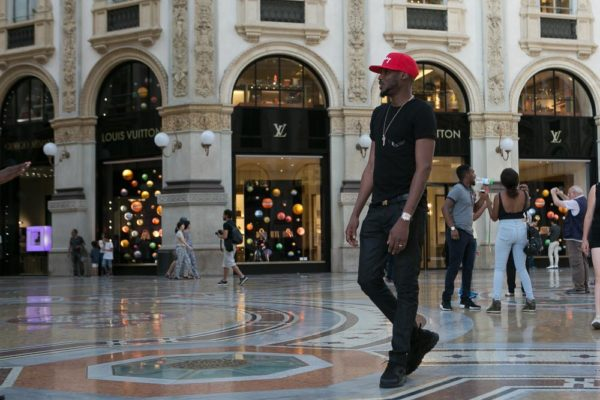 2Baba spotted in Milan 10