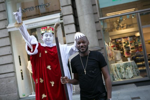 2Baba spotted in Milan 18