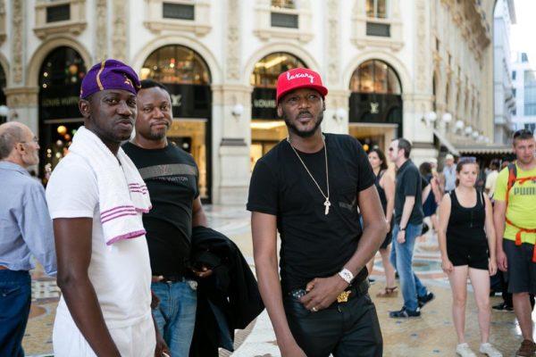 2Baba with Ayeni Adekunle and Efe Omorogbe