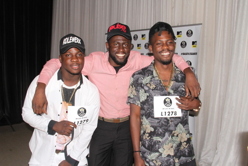 Koker, Osagie and YCee