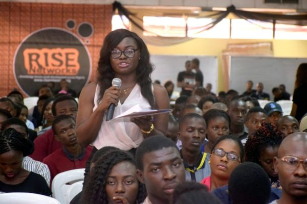 There was plenty of room for audience members to ask questions as well as contribute to the discussion at the #IYD2016NG event