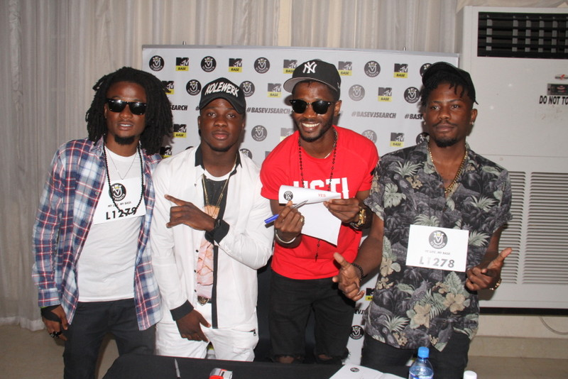 Ehiz, Koker, Hypeman Jimmie and YCee