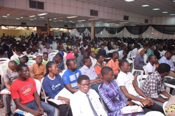 A cross section of participants at the #IYD2016NG event.