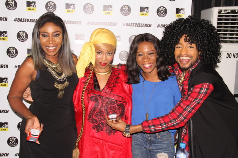 Kaylah, Temi Dollface, Princess Abumere and Denrele