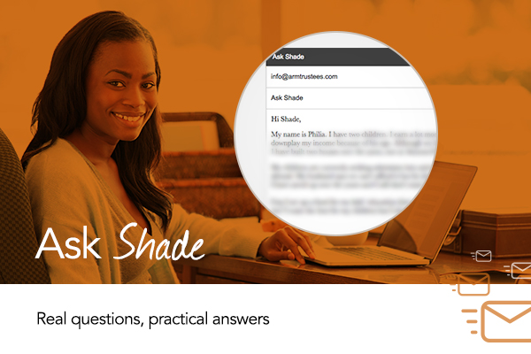 My Name Is Shade.Ask Shade About Trusts Does My Husband Have To Know Bellanaija