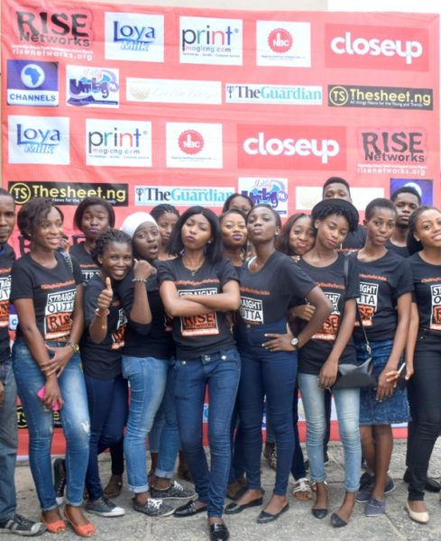 Some of our volunteers at the #IYD2016NG event
