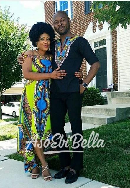 @femiosinowo & wifey @pholarshadeyy Outfits by @pholarshadeyy