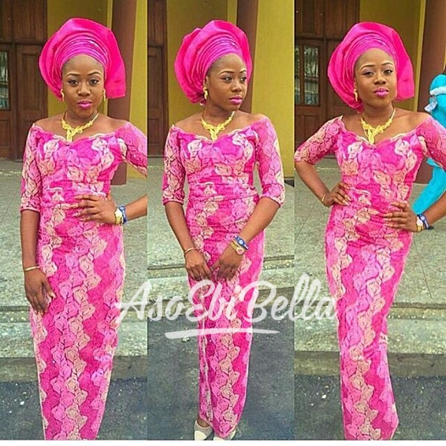@msbukkyolofin in @elanfashion_ng Fabric @deroyalfabrics