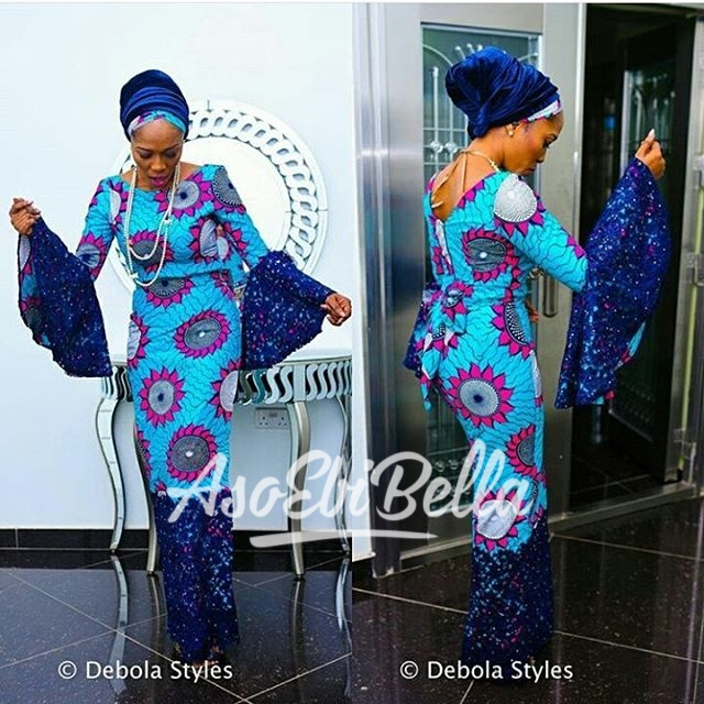 @yomisummerhues Fabric by @ankarahqfabrics Outfit by @redbuttonclo Photography @thedebolastyles