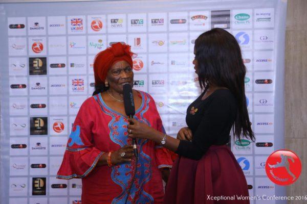 A Delegate sharing Testimonial i