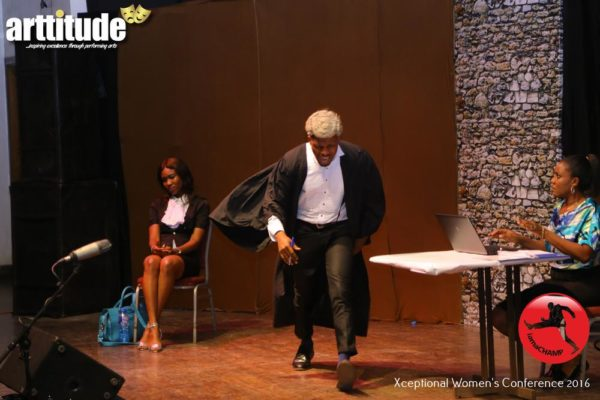 A Scene @ The ARTTITUDE - A Live Stage Drama Series