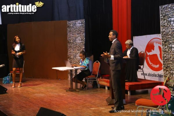 A Scene at The ARTTITUDE - A Live Stage Drama Series