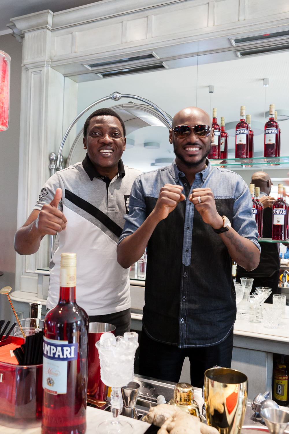 Abayomi Ajao and 2Baba
