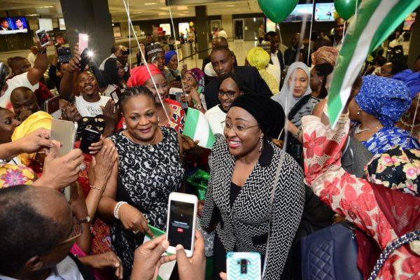 Aisha Buhari in US