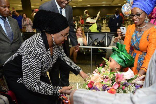 Aisha Buhari in US2
