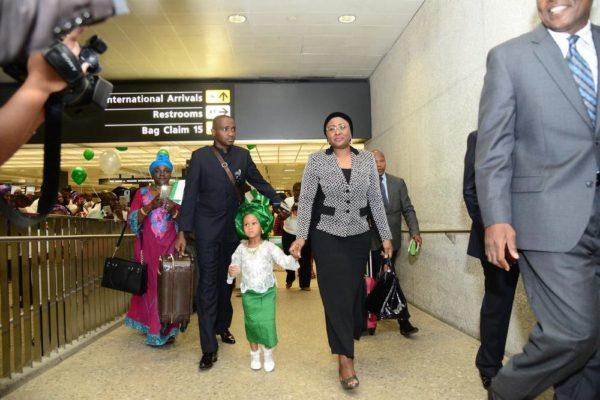 Aisha Buhari in US3
