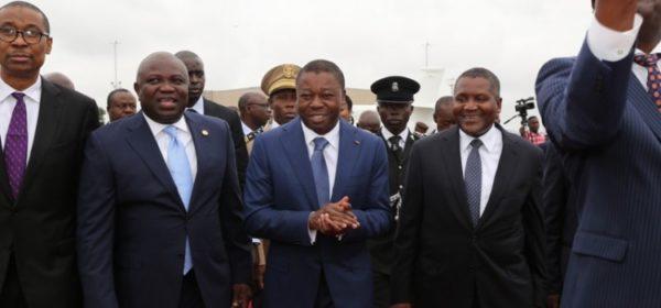 Ambode Receives Togolese President1