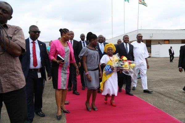 Ambode Receives Togolese President2