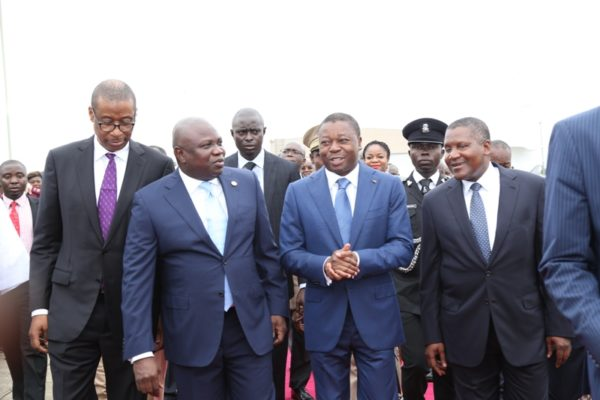 Ambode Receives Togolese President3