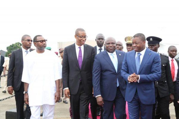 Ambode Receives Togolese President4