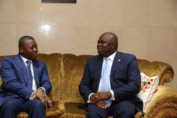 Ambode Receives Togolese President6