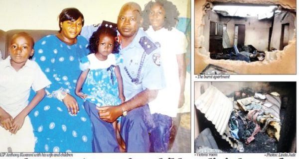Anthony Kwanmi and Family