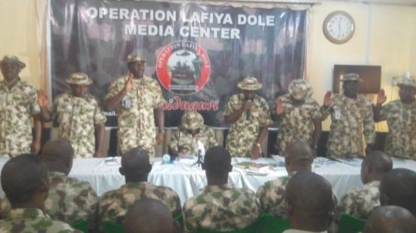 Army-court-martials-20-soldiers-in-Maiduguri