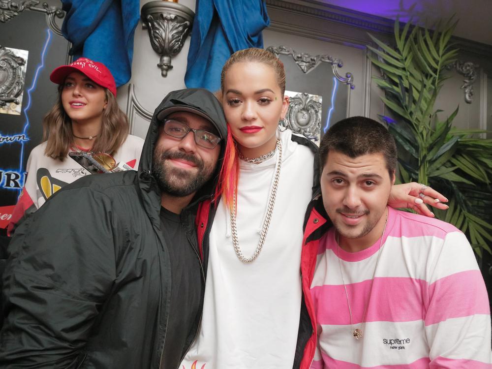 Sam Chetrit, Rita Ora, Michael Chetrit