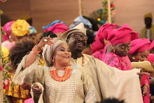 Bamidele & Tinuade Coker in The Wedding Party