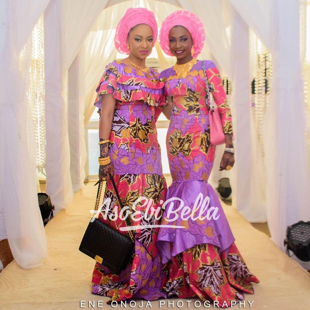Bellas at @ms_shagari's welcome recption dinner Photographer @eneonojaphotography