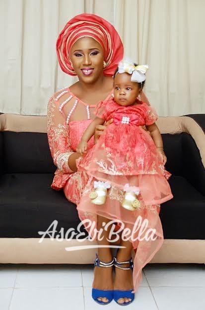 Bukky Kemi & her lil princess