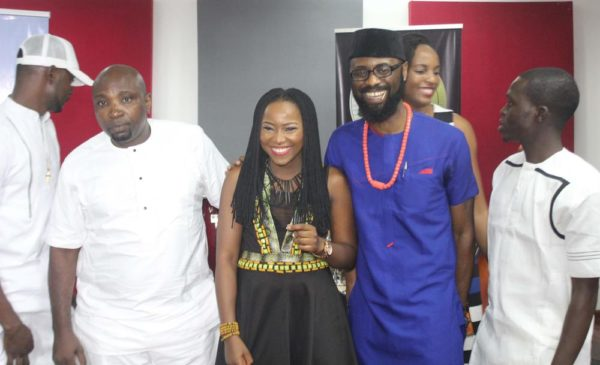 L-R: CEO-Wole Adeniyi, Evelle and the COO