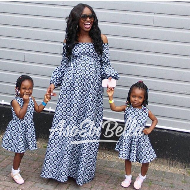 CEO of @bumpnchic & her girls in @wifeysclozet