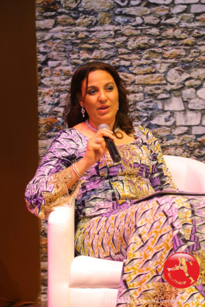 Clare Omatseye speaking @ The Xceptional Women's Conference