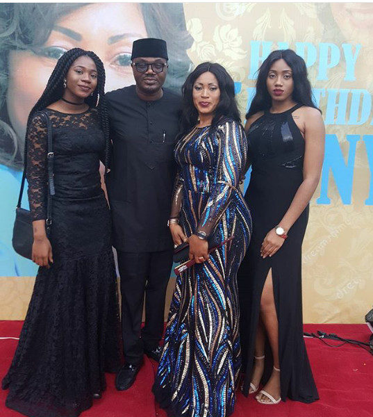 First Photos: Veteran DJ Jimmy Jatt celebrates his Wife's 50th Birthday with a Bang | BellaNaija