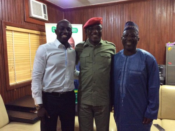 Dalung Visits Siasia