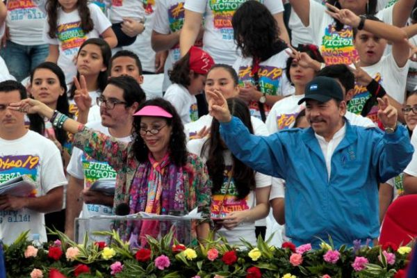 Nicaragua's president picks his wife as his presidential running mate