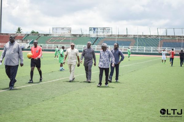 Day 1 Zii - The Kick-off of the Novelty Match by Amaju Pinnick