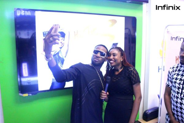 Dbanj with techcity presented using hot s