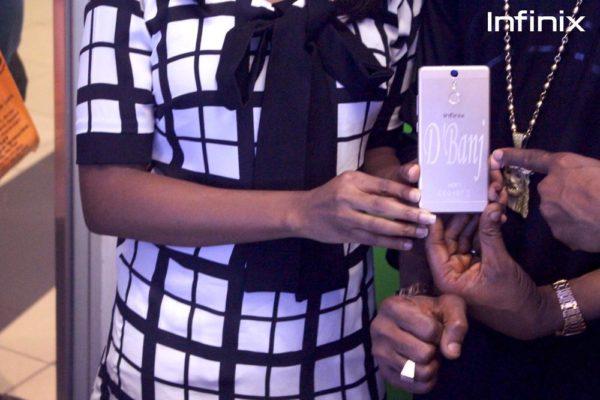 Dbanj's customized Infinix HOT S