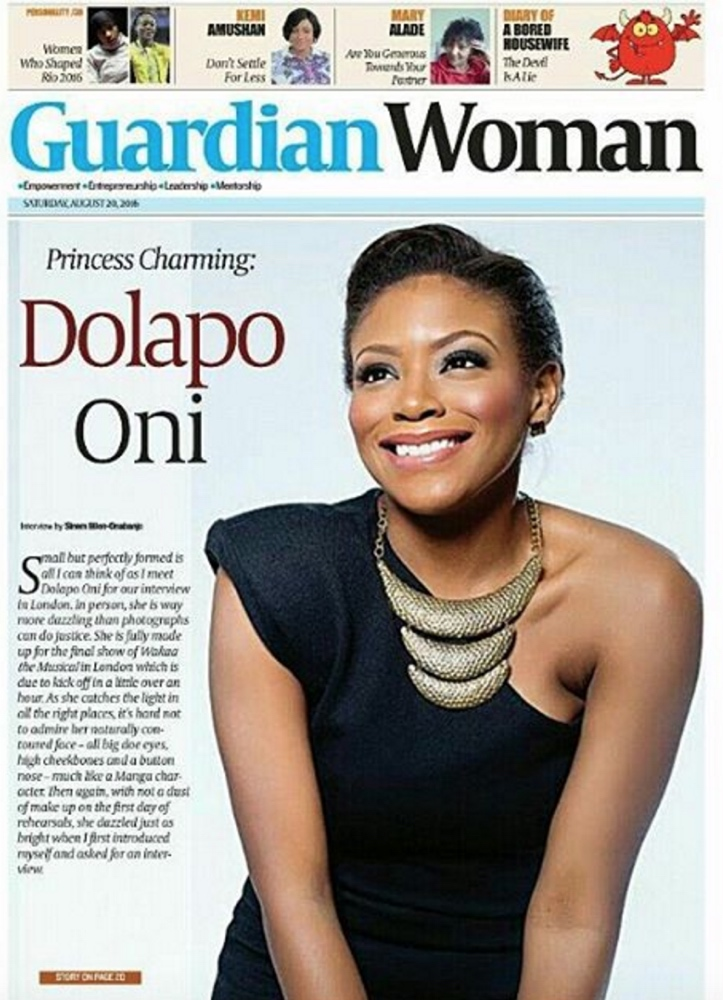Dolapo Oni Sijuwade_Guardian Woman Cover