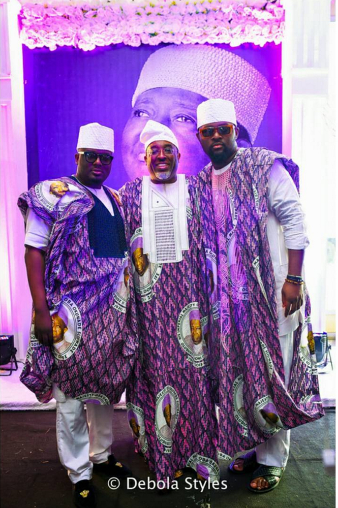 Gbite and his brothers Tokunbo & Deremi