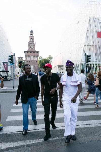 Efe Omorogbe, 2Baba and Ayeni